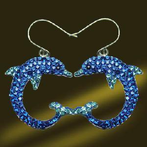 Best 925 Silver Crystal Drop Earring (ESL3363) wholesale