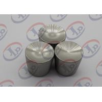Best 316 Stainless Steel Nuts Custom Machined Parts with M5*0.8mm Internal Thread wholesale
