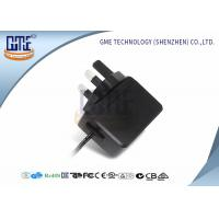 China 6 Volt Switching Power Supply AC DC Universal Power Adapter UK Plug on sale