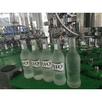 Cheap Small Glass Bottle Champagne / Sparkling Wine Filling Machine , High Efficiency for sale