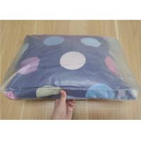 China Clear PVC Packaging Bags With Button For Pillow And Four Piece Suit Package on sale