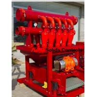 Best High efficiency solids control D-silter separator used in well drilling for sale wholesale