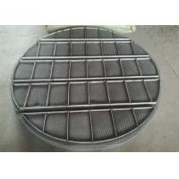 Best Stainless Steel Mesh Sheet / Mist Eliminators Mesh Pads Alloy Material wholesale