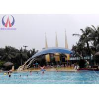 Quality Waterproof Shade Sails Tensioned Membrane Structures With Customised Shape wholesale