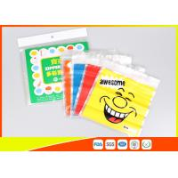 Best Stand Up Biscuit Pe Plastic Reselable Pouches / Custom Food Grade Plastic Bags wholesale