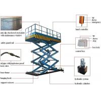 Buy cheap China Manufacturer 500kg 1000kg 2000kg 4000kg 5000kg Electric Fork Fixed Hydraulic Lifting Platform Cargo Lift from wholesalers