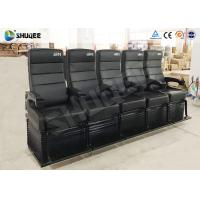Buy cheap Electric Dynamic System 4D Cinema Equipment Red / Black Cinema Chair For Theater from wholesalers