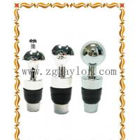China Alloy High Grade Silver Wine Stopper/4 PCS Per Set on sale