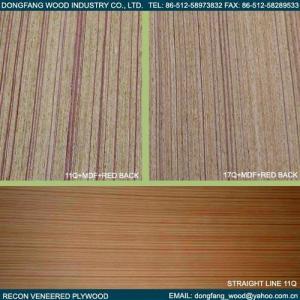 China Recon Veneered Plywood on sale