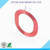 Cheap Multilayer Red Air Core Coil , Resistance Toroid Coil Winding For Sensor for sale