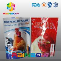 Best Custom Your Own Logo Stand Up Pet / Tukey Food Storage Pouch With Zipper wholesale