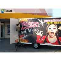 Best Mobile 5D Cinema In Trailer or Truck For Party Mall Park Business Easy Install wholesale