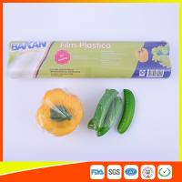 Best Stretch PE Cling Film Plastic Food Wrap For Keeping Fresh With FDA Approval wholesale