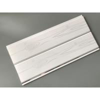 Best Printing Surface Plastic Wall Liner Panels , White Wood Paneling For Walls wholesale