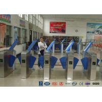 Best Heavy Duty Industrial Speed Flap Barrier Turnstile For Handicap Channel wholesale