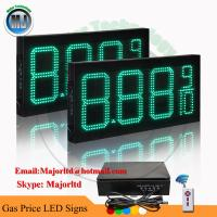 """Best 8"""" Electronic led price sign with wireless controller for gas station wholesale"""
