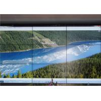 Cheap Splicing Touch Screen Indoor LED Video Wall With 55'' Samsung Panel 1.9mm Seam for sale