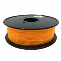Best Fluorescent Orange HIPS 3d Printer Filament 1.75mm For Makerbot No Odor wholesale