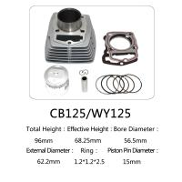 Best 125cc Engine CB125 Cylinder Block Kit For WY Honda For Motorcycle Accessory wholesale