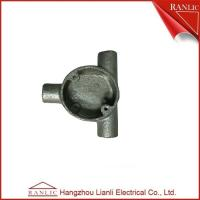 Best Circular Junction Box For BS4568 Class 4 Rigid Conduit / Malleable Iron Materials wholesale