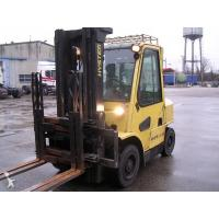 China 3.8m Four Wheel Drive 40 Ton Forklift Truck Diesel Engine CPCD400 on sale