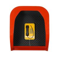 Best Wall Mounting Acoustic Phone Booth, Multi Colors Sound-proof Telephone Hood wholesale