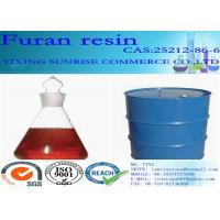 Quality Furan Resin Foundry Chemicals CAS 2512-86-6 C5H6O2 Red Brown Transparent Liquid wholesale