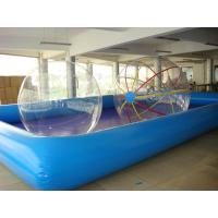 Best wholesale Kids inflatable pool with slide PO-046 wholesale