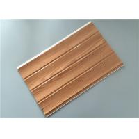 Best Customized Decorative PVC Panels With Four Grooves Fire Proof 8 Mm Thickness wholesale