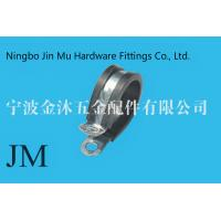 Quality Fixing Pipe Gas Hose Stainless Steel Pipe Hangers And Clamps EPDM Rubber Coated P Type wholesale