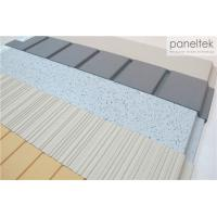 Best Clay Exterior Wall Panels With Lined / Grooved / Polished Different Finish wholesale