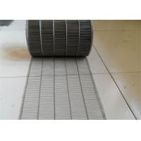 Best Customized Flat Wire Mesh Conveyor Belt Running Smoothly And Free Samples wholesale