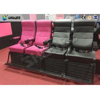 Best Environment Effect Customize Movie Theater Black  / White Chairs Electric System wholesale