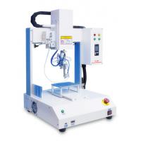 Quality Four Axis Automatic Soldering Machine Φ0.3-1.6 mm Tin Thread For Circuit Boards wholesale