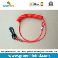Best Engines Kill Stop Tether Colosed Safety Swith Red Soft Coil Strap wholesale