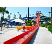 Buy cheap Custom Speed Slide Outdoor Commercial Water Park Equipments Fiberglass Slides from wholesalers