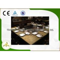 Safe 9 Seat Indoor Outdoor Hibachi Grill Table For Hotel / Food Plaza