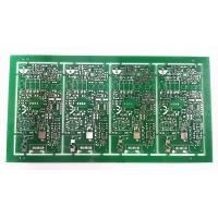 Best High TG FR4 Automotive Printed Circuit Board Assemb Green Soldermask With Immersion Silver wholesale