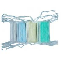 Best Hospital Non Woven Medical Disposables Face Mask 3 Ply Colorful Tie On Type wholesale
