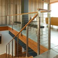 Best Steel Post Supports Stainless Steel Balustrade Posts for Wire Railing System wholesale