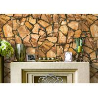 Details of 3d effect stone pattern durable popular for 3d effect wallpaper for home