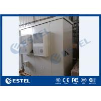 Cheap IP55 Three Compartment Outdoor Electronic Equipment Cabinets With Air Conditioner for sale