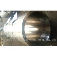 Best S S Forged Steel Products / Forged Ring Flange Cylinder With Machining wholesale