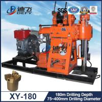 Best 180m Deep Geotechnical Exploration Water Well Rig Drilling Machine XY-180 Portable wholesale
