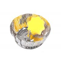 Best Collapsible Stainless Steel Steamer Basket For Pressure Cooker Vegetable Food Cooking wholesale