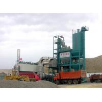 Quality 180tph Hoisting Capacity Hot Mix Asphalt Plant , 5 Layer Vibration Screen Asphalt Mixer Plant With SKF Bearing wholesale