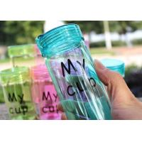 Best Environmental Heat Resistant Water Bottle Bpa Free For Daily Drinking wholesale