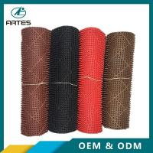 Best Car floor mat anti slip PVC car mats antistatic black,bronze 1.2*9 0.6*0.74 thickness 5-8mm wholesale