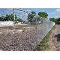 Best 40 x 40 / 50 x 50 / 60 x 60 Metal Chain Link Fence For Baseball Sport Field wholesale