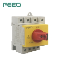 Best Electrical Main Enclosured DC Solar Isolator Switch 2P 4P 1500V 32A wholesale